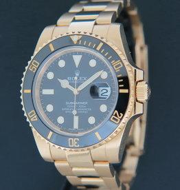 Rolex  Submariner Date Yellow Gold 116618LN