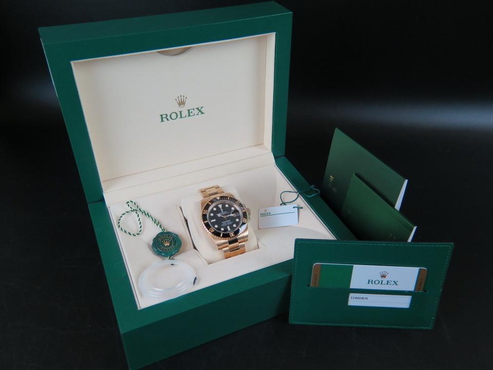 Rolex  Rolex Submariner Date Yellow Gold 116618LN