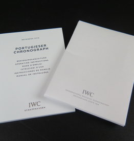 IWC Portugieser Operating Instructions & Cleaning Cloth