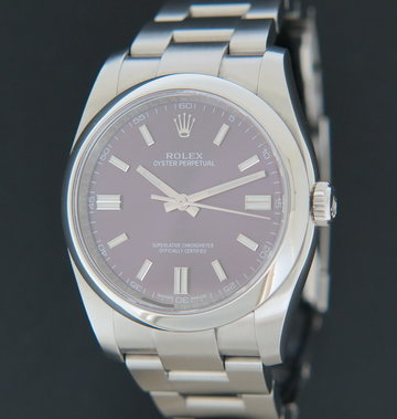 Rolex  Oyster Perpetual 36 Red Grape 116000