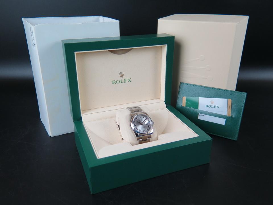 Rolex  Rolex Datejust Rhodium Dial 116200