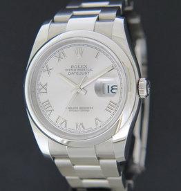 Rolex  Datejust Rhodium Dial 116200