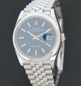 Rolex  Datejust Blue Dial 126200