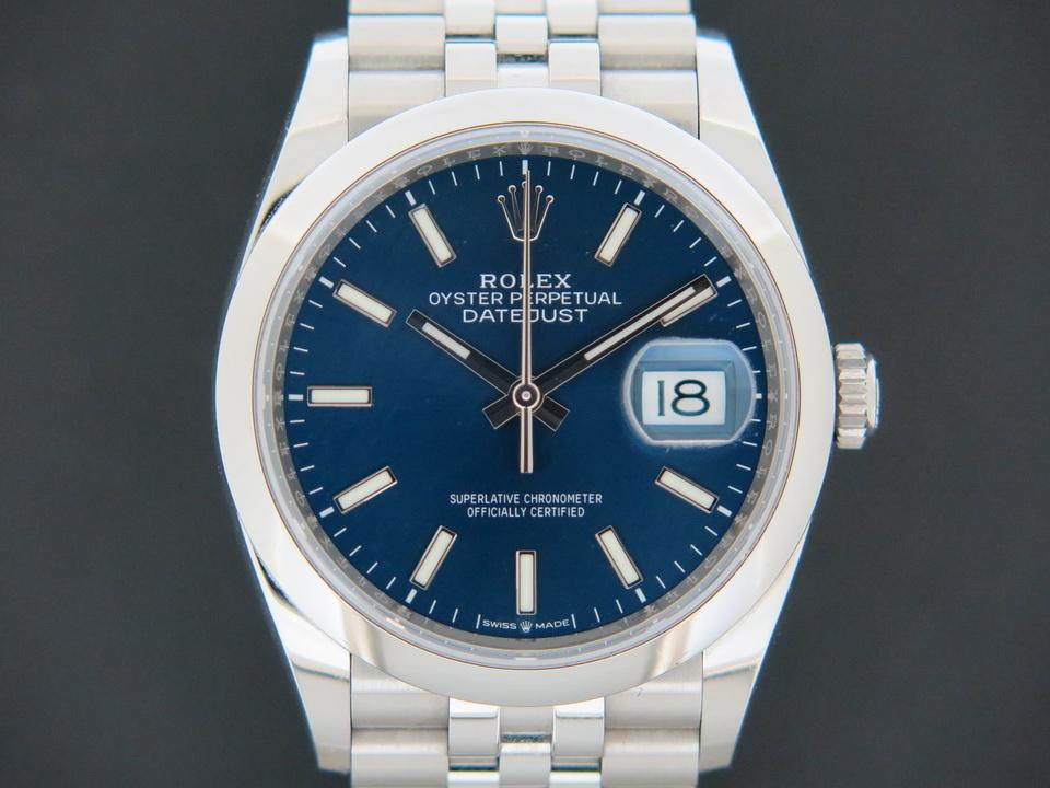 Rolex  Rolex Datejust Blue Dial 126200
