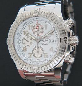 Breitling Super Avenger White Dial A13370