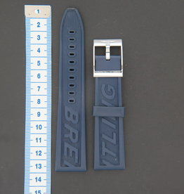 Breitling Rubber strap 24-20 + Breitling Clasp