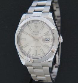 Rolex  Datejust II Silver Dial 116300