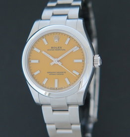 Rolex  Oyster Perpetual 31 Yellow Dial 277200 NEW