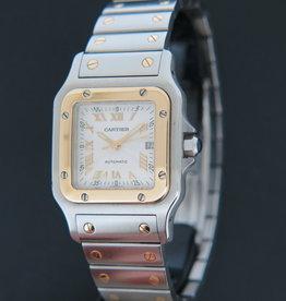 Cartier Santos Galbee GM Gold/Steel W20041C4 / 2319