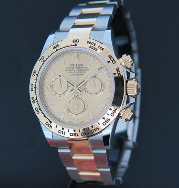 Rolex  Daytona Gold/Steel Champagne Dial 116503 NEW