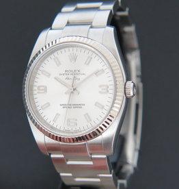 Rolex  Air-King Silver Arab Dial 114234