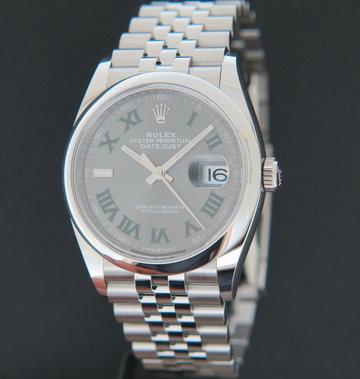 Rolex  Datejust Slate Dial 126200 NEW