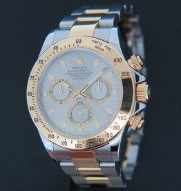 Rolex  Daytona Gold/Steel Grey Dial 116523