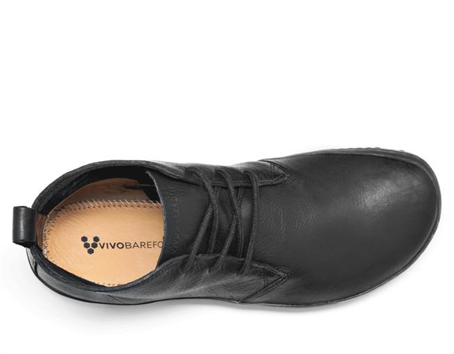 Vivobarefoot Gobi II Men Leather BlackHide