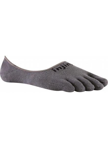 Injinji Sport Lightweight Hidden Coolmax Charcoal