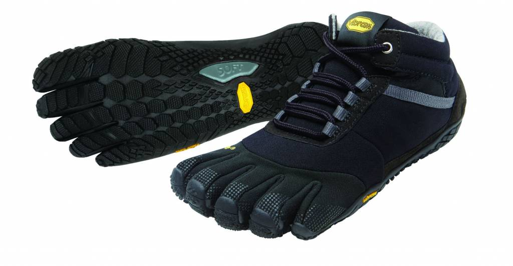 Fivefingers Trek Ascent Insulated Men Black Barefoot