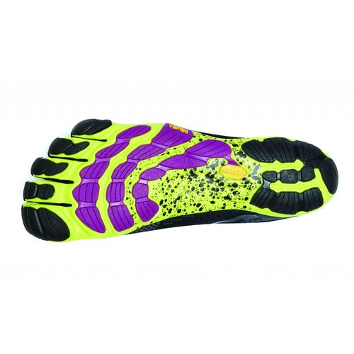 Vibram FiveFingers V-Run Women Black/Yellow