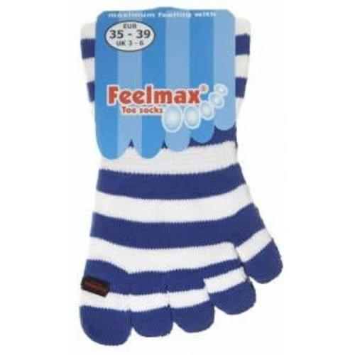 Feelmax Kids Blauw/Wit gestreept, maat 20-24