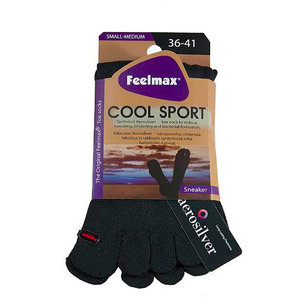 Feelmax Coolsport Sneaker Zwart