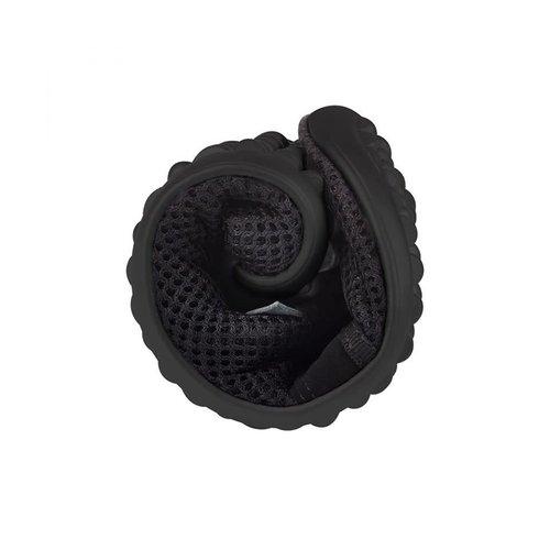 Leguano Aktiv Zwart met zwarte zool