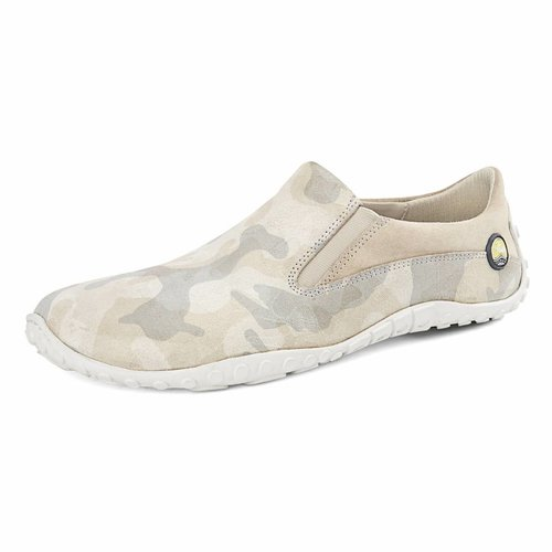 Joe Nimble SALE: mellowToes dames beige/camouflage leer