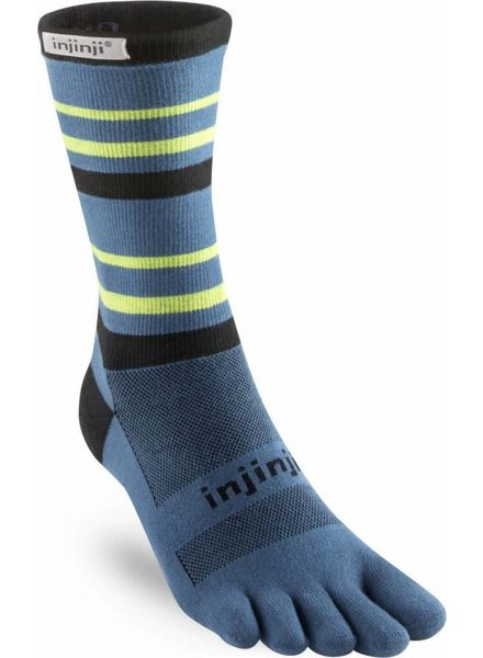 Injinji Run Lightweight Crew Atlantic