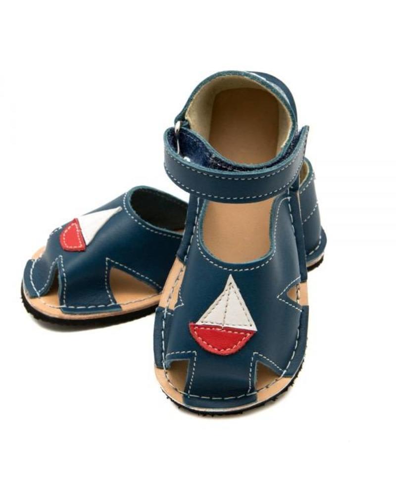 Zeazoo SALE: Sandaal Nemo Blue (blauw met bootje)