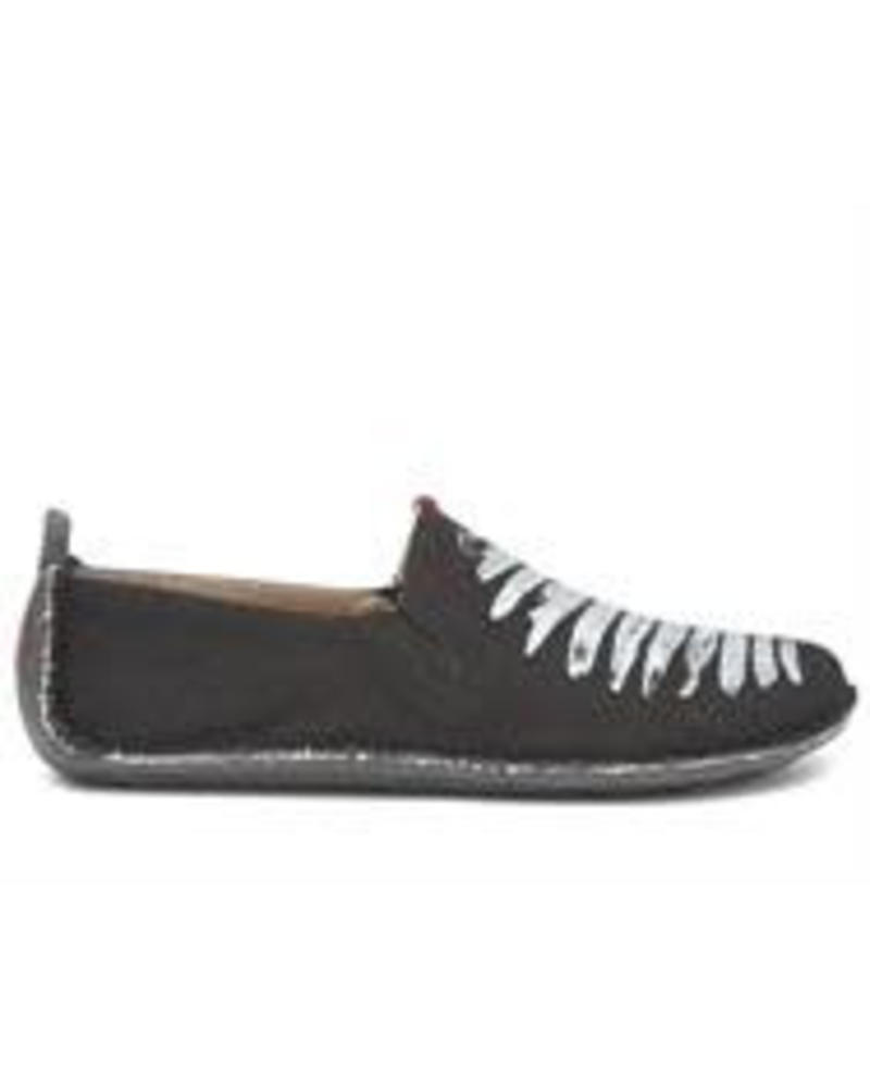 Vivobarefoot Ababa Men Canvas Birdie Black