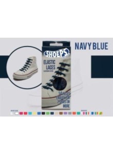 Shoeps Shoeps elastische veters Navy Blue