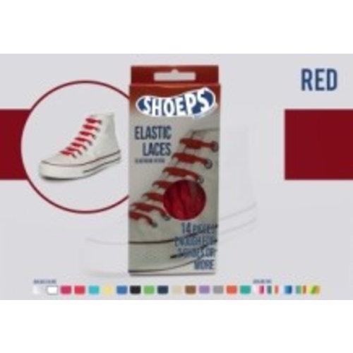 Shoeps Shoeps elastische veters Red