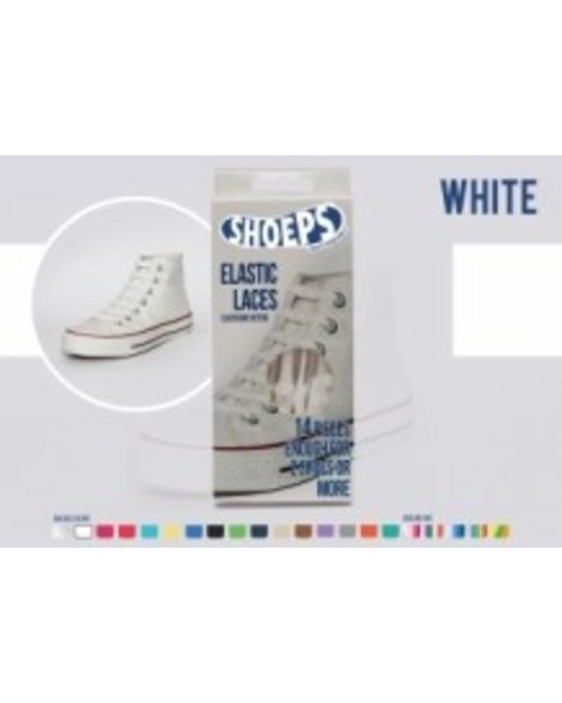 Shoeps Shoeps elastische veters White