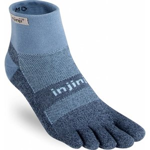 Injinji Trail Midweight Mini-Crew Coolmax Powder Blue
