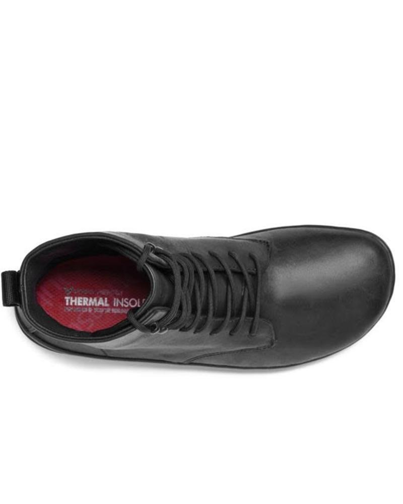 Vivobarefoot SALE: Gobi Hi 2.0 Ladies Leather Black