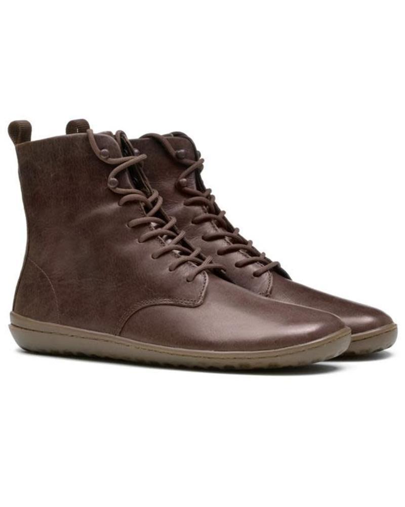 Vivobarefoot SALE: Gobi Hi 2.0 Ladies Leather Brown