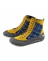 Joe Nimble ridgeToes dames Mustard / Blue