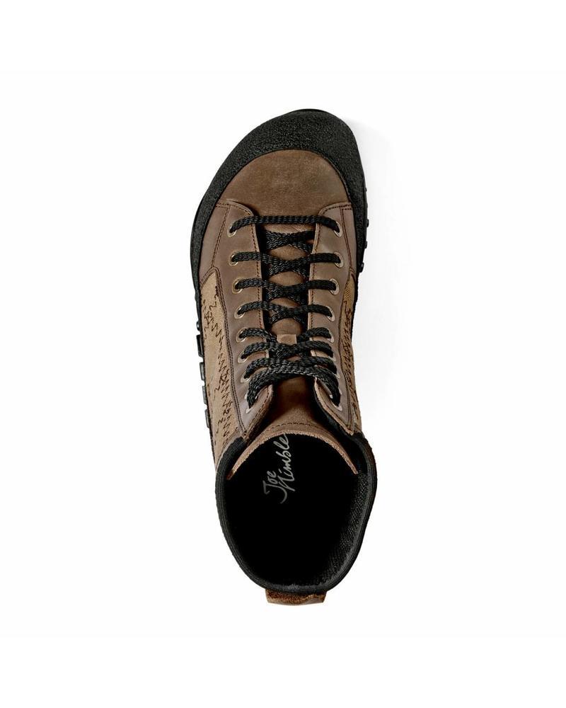 Joe Nimble ridgeToes heren Dark Brown / Mud