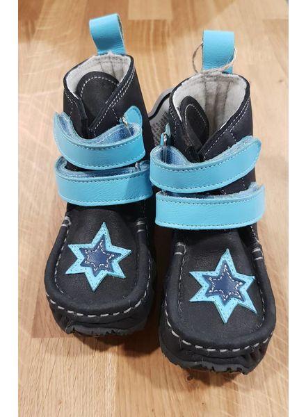 Zeazoo SALE: YETI Zwart met lichtblauw klittenband en ster