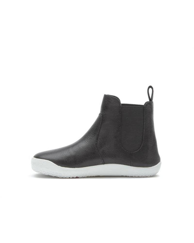 Vivobarefoot Fulham Kids Leather Black