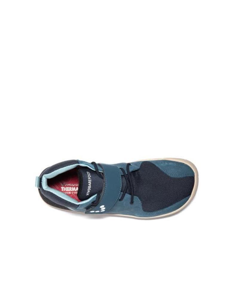 Vivobarefoot Primus Bootie Junior Leather Indigo