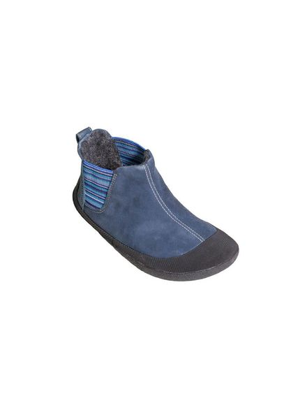 Sole Runner Portia Blue/Black Leather Junior