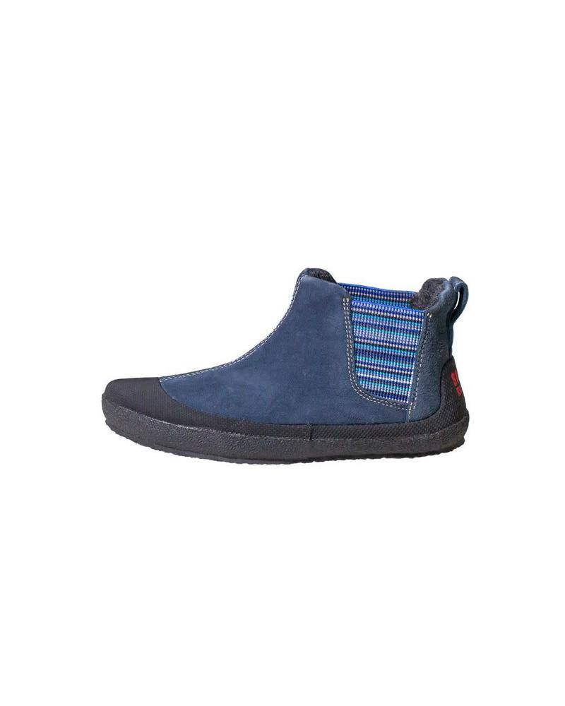 Sole Runner Portia Blue/Black Leather Kids