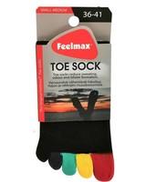 Feelmax Basic Black Multicolor Toes