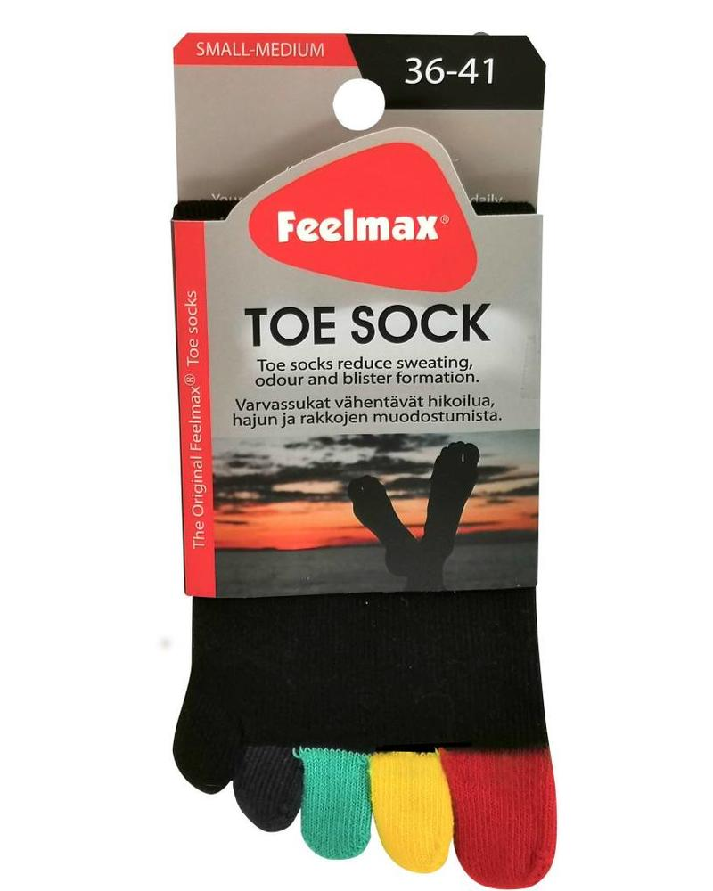 Feelmax Basic Black Multicolor Toes