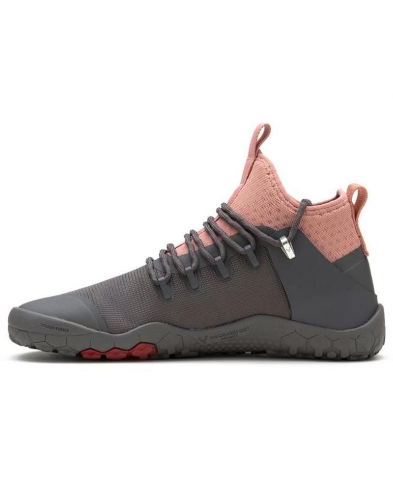 Vivobarefoot Magna Trail Ladies Grey/Pink