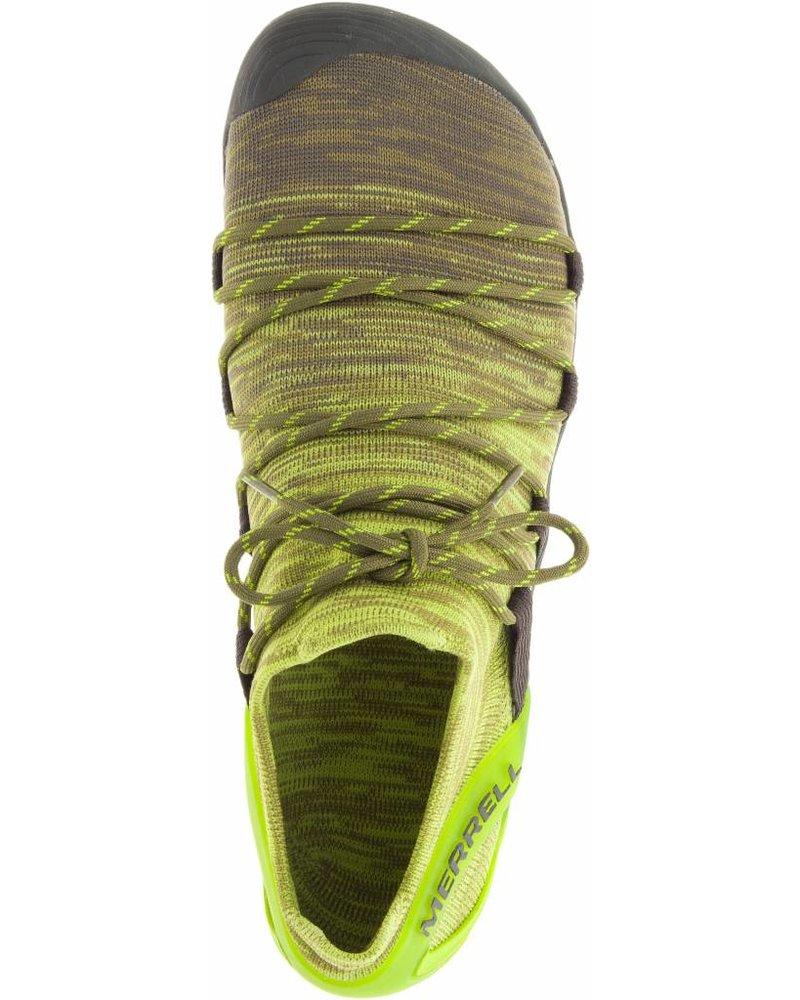 Merrell Vapor Glove 4 3D Men Olive Drab / Lime Punch