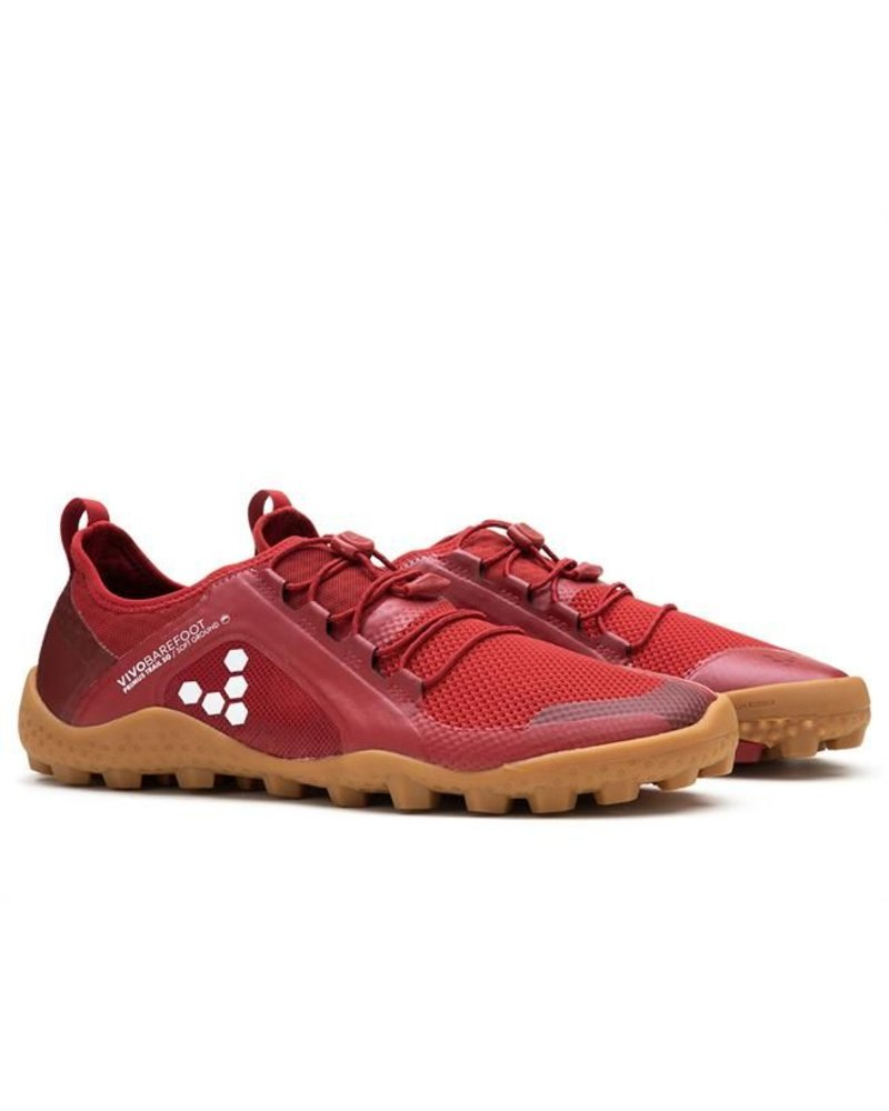 Vivobarefoot Primus Trail SG Men Mesh Red/Gum