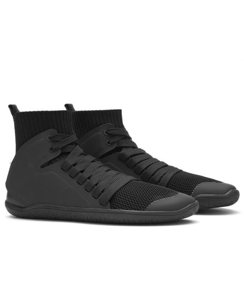 Vivobarefoot Kanna Hi Knit Ladies Mesh Black