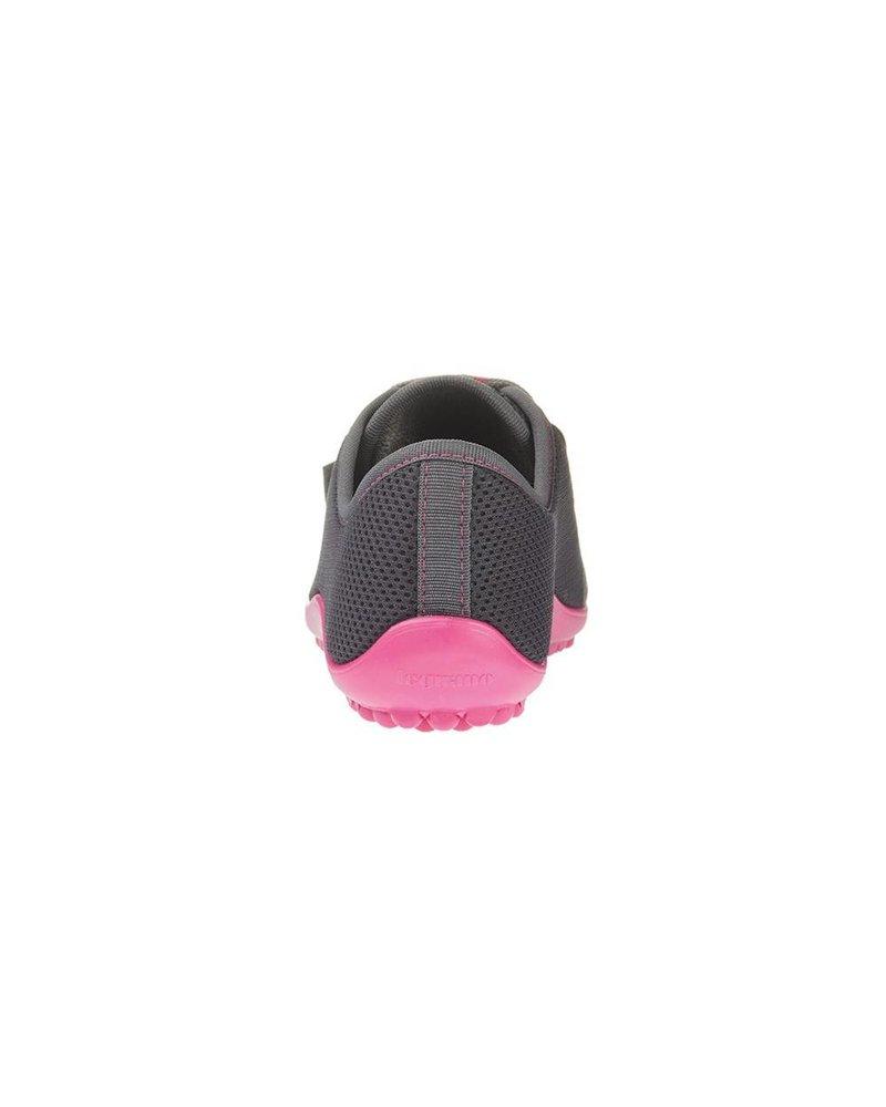 Leguano Aktiv Antraciet met roze zool
