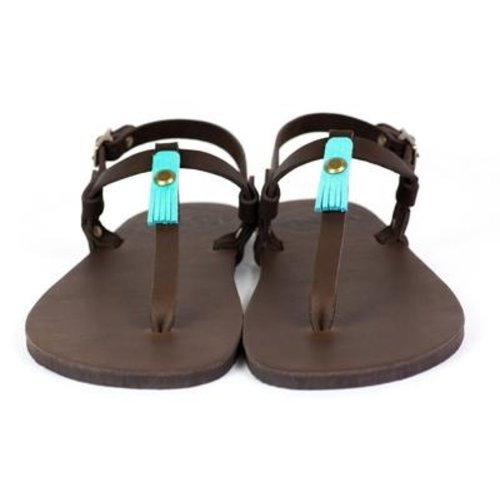 Luna Sandals Brujita Chocolate
