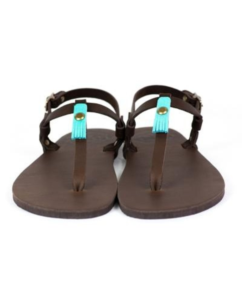 Luna Sandals Brujita Chocolate